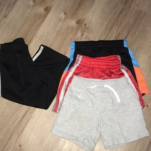 Lot of 4 athletic wear for size 24months